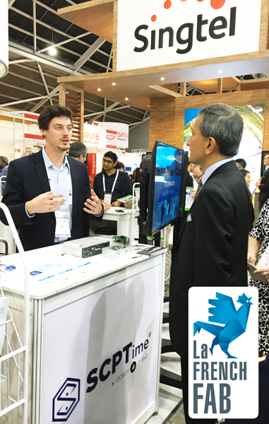 Scptime au salon iot asia 2018 manifestations gorgy timing for Salon iot